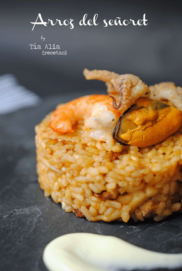 Arroz regional, arroz tradicional del señorito