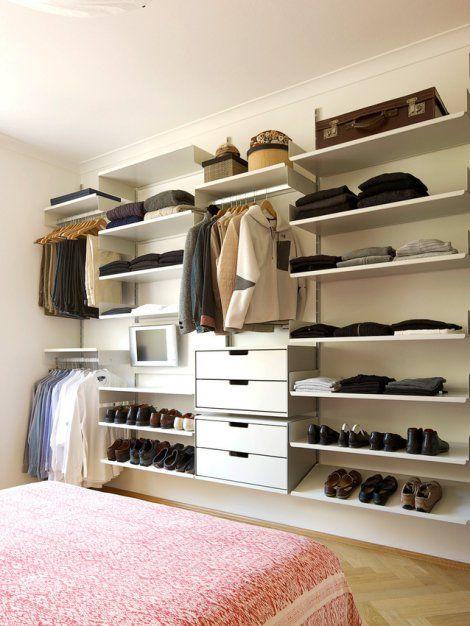 Vitsœ | Bedroom shelving