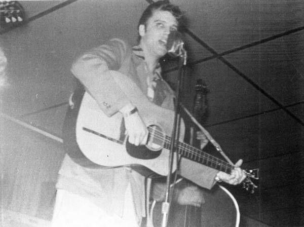 Resultado de imagem para elvis live in 1955
