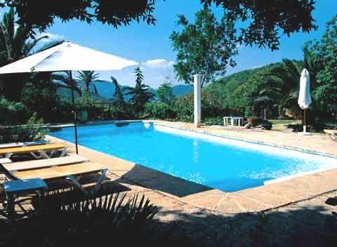 Pool und weiter Blick in die Landschaft Fincaferien auf Mallorca 12-14 Personen PM 570 Capdepera Cala Ratjada