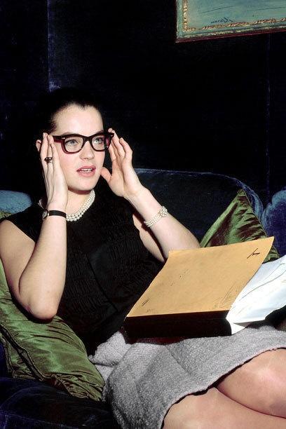 Romy Schneider at Coco Chanel´s Atelier