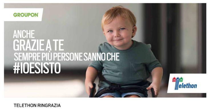 """#Groupon #charity #stelleforchette 15.490 € per Telethon con il progetto """"Stelle&Forchette""""  di Groupon"""