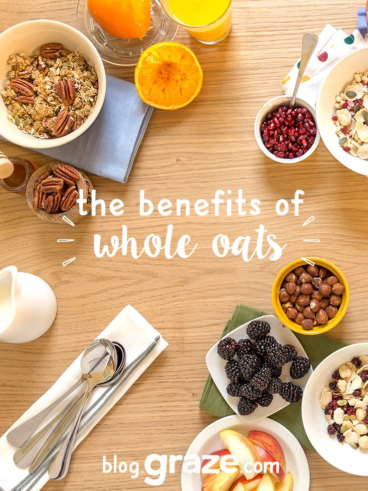 the benefits of whole oatsfrom our nutritionist  Whether you prefer a warm bowl of porridge with honey, or a refreshing helping of bircher muesli with berries, a daily helping of whole oats can contribute to a long and healthy life.  [[MORE]]A...