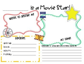Hollywood Movie Themed Classroom Resources image 4