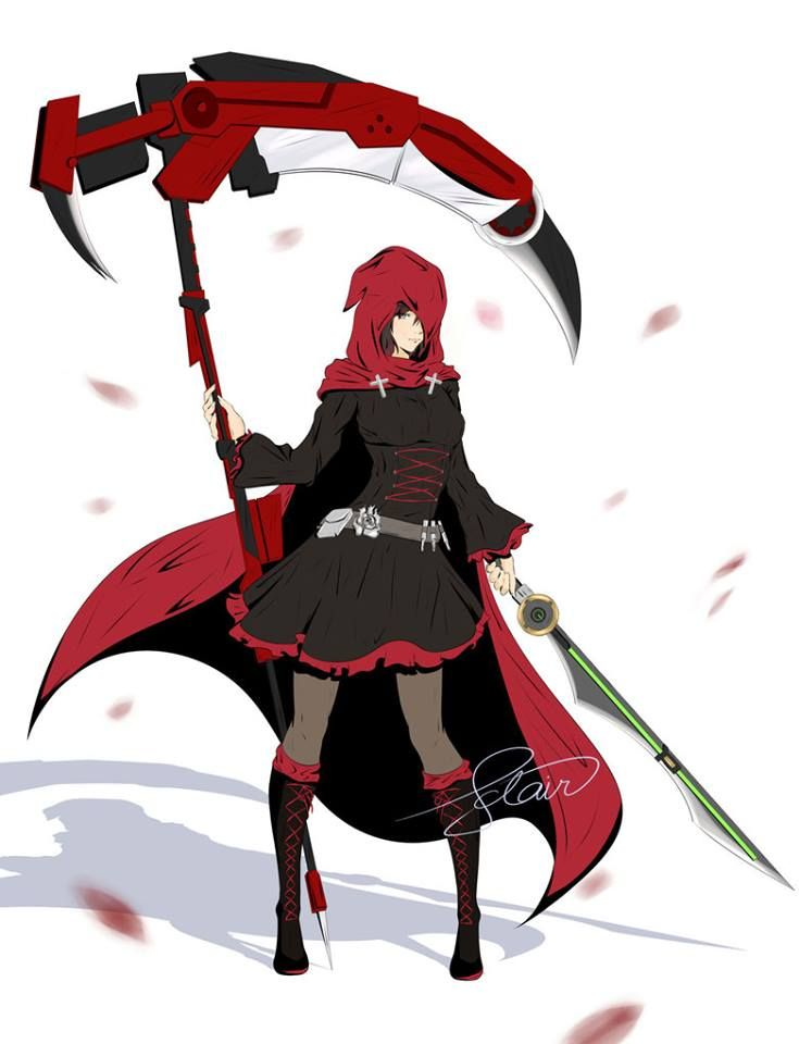 867 best rwby images on pinterest team rwby rooster - Rwby ruby rose fanart ...