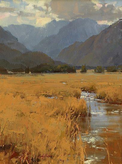 Salon International - Mountain Hues - by Cindy Baron
