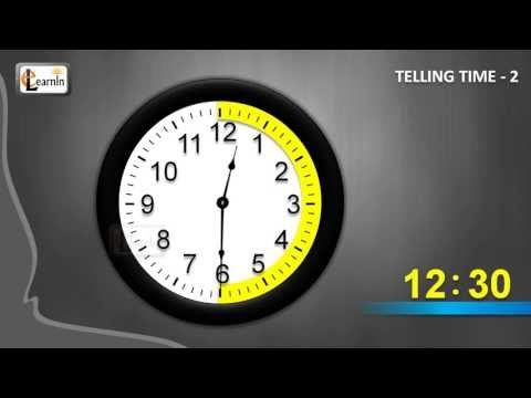 How to tell time - Part 2 | Learn to tell time | Telling time | Learning video for children - YouTube