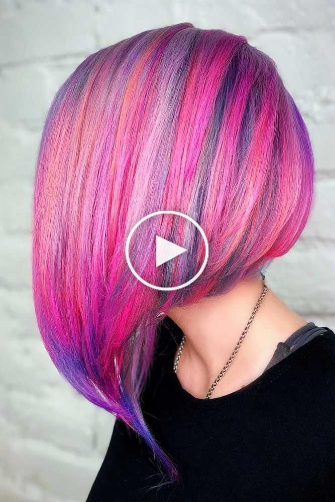 An inverted bob haircut is a trendy variation of a classic bob haircut that is one length. Its ...