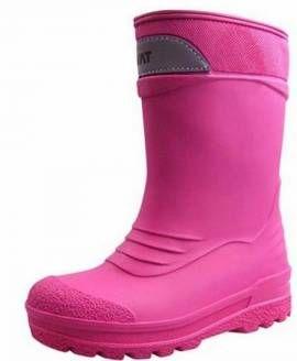 Kavat Winter Thermo Gummistiefel SLASK gefüttert Farbe cerise pink - Bild vergrößern