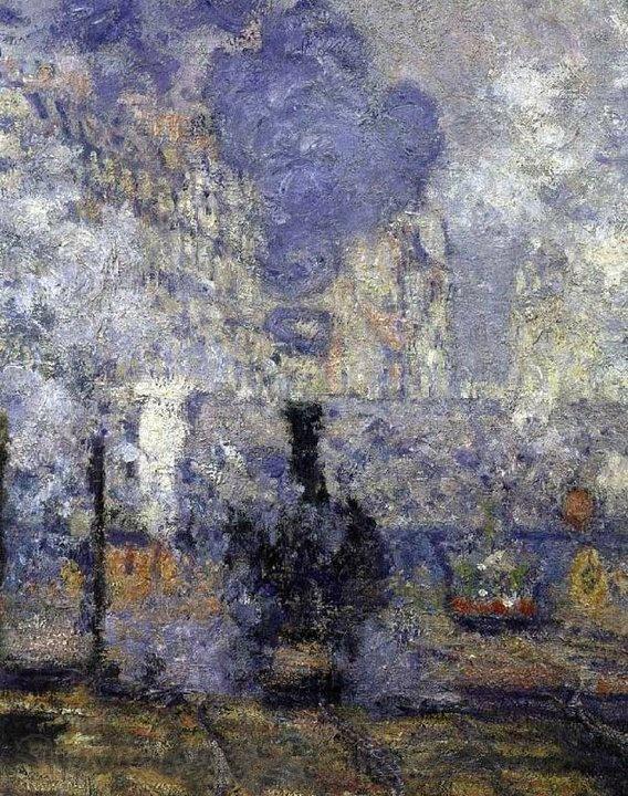 Claude Monet 1840-1926 | La Gare St Lazare, Parigi 1877 | Tutt'Art@ | Pittura * Scultura * Poesia * Musica |