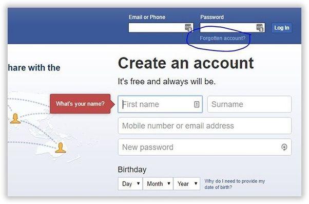 Recover My Facebook Password 2020 How To Regain Lost Password On Facebook In 2020 Passwords Old Facebook Accounting