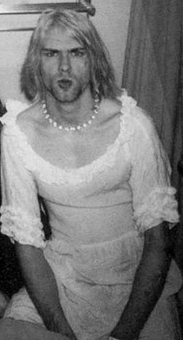 60 fotos que no habías visto de Kurt Cobain