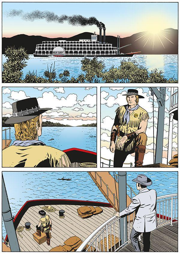 A arte de Fabio Civitelli em Delta Queen