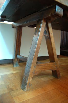 Thomas Guild   Medieval Woodworking, Furniture And Other Crafts: A Century  Trestle Table From Bruges
