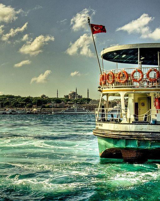 Ship , Istanbul   by Nejdet Duzen