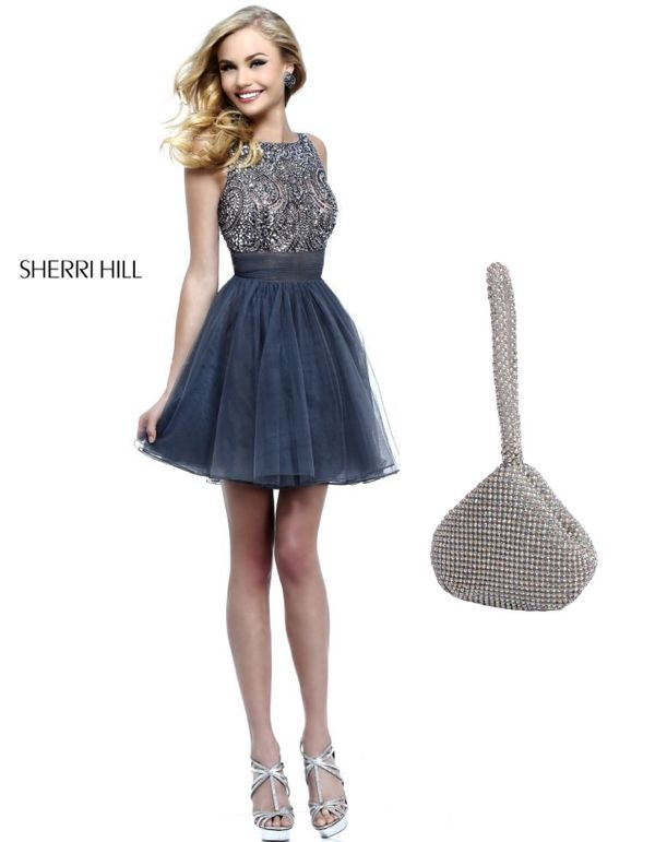 1377043_649463905094196_1935394522_n.png 600×771 pixels  Do you need a party dress for either a wedding, school dance, or social event? Sherri Hill has the dress for you! This dress has an allover beaded bodice to give you that glam feeling! Don't forget a cute clutch to finish off the look!