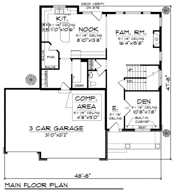 87 Best Images About Floor Plans On Pinterest Craftsman
