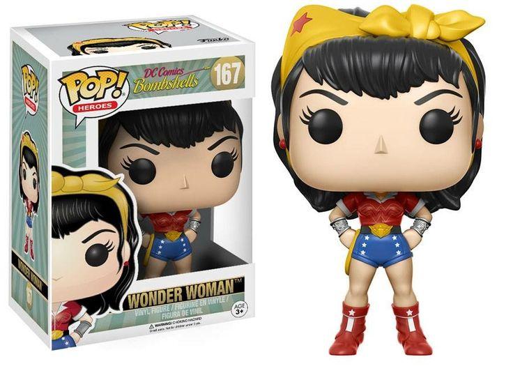 Bombshell Wonder Woman Pop Funko