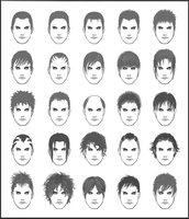 How to Draw Hair Men's Hair - Set 3 with thanks to  ~dark-sheikah on deviantART, Art Student Resources for CAPI ::: Create Art Portfolio  Ideas at milliande.com , Art School Portfolio Work