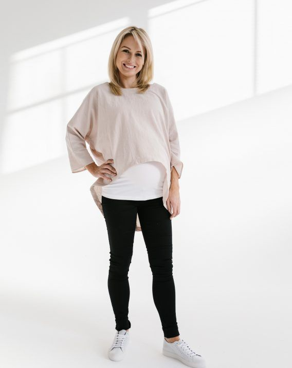 Slouch Top - Blossom & Glow