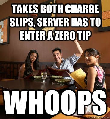 waitress problems... check out more at breakroomstories.com !!