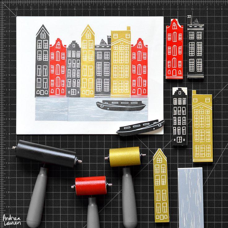 Andrea Lauren Design - Block Prints                                                                                                                                                                                 More