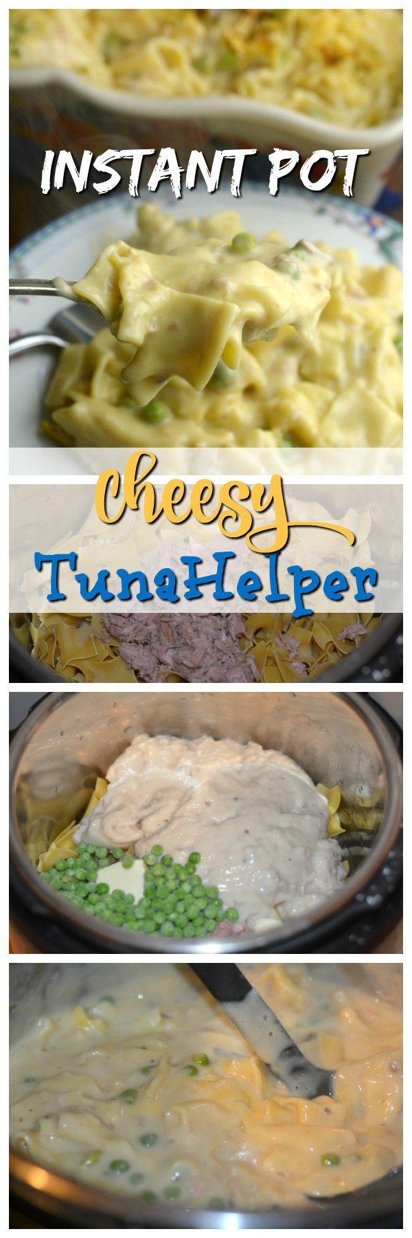 Cheesy & Creamy The perfect quick weeknight meal. Why waste your money on boxed tuna helper when you can make it yourself in 4 minutes.