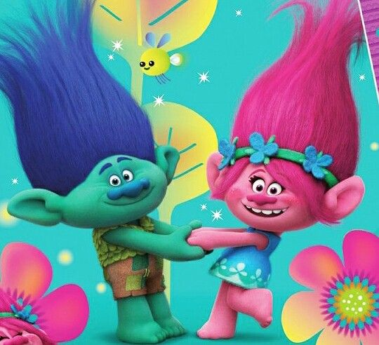 Branch and Poppy - True Colors - Trolls Dreamworks