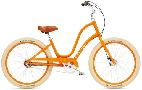mandarin orange bike