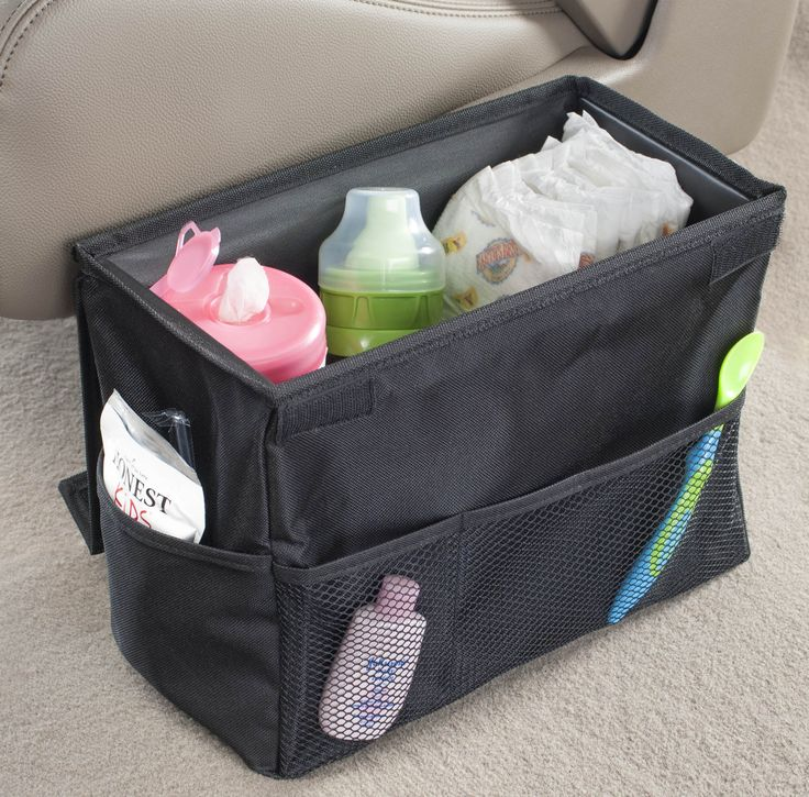 Wish I had this when my kids were younger! Car storage for diapers, wipes, lotions, powder, dishes, spoons - even extra clothing. It's the do-it-all Carganizer from High Road Car Organizers.