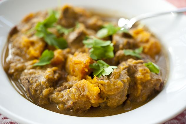 I made this the other night and it was deliciousness! Venison curry stew from www.georgiapellegrini.com