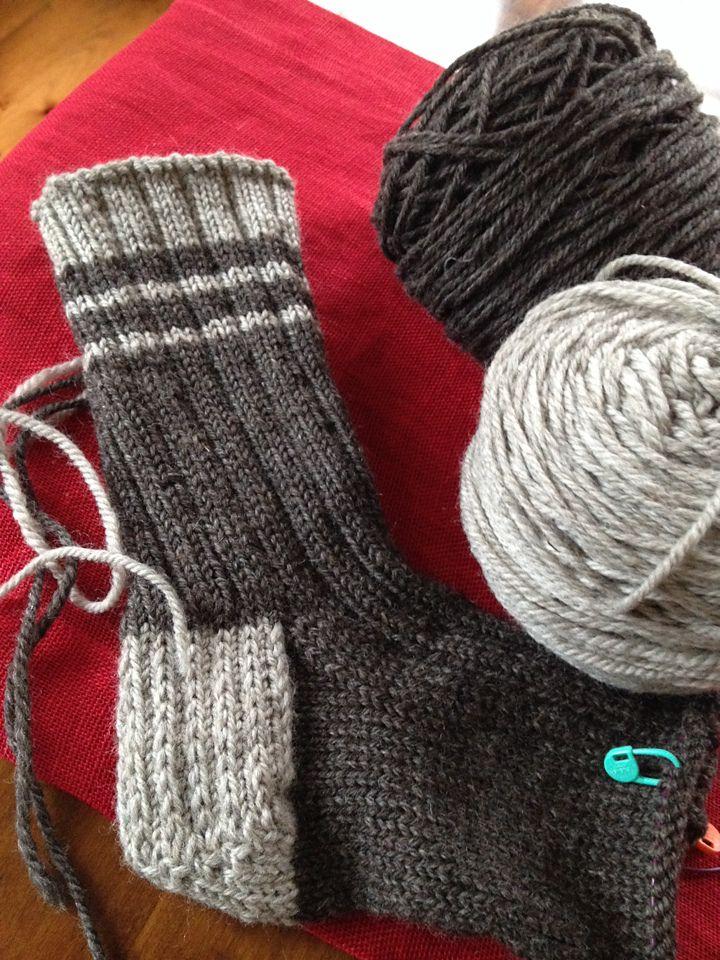 Old Fashioned Work Socks Pattern By Cheryl Wartman