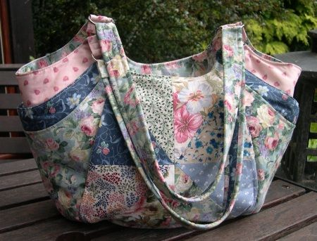 """My Quattro Bag - at last!"" by Karen @ sew-whats-new.com"