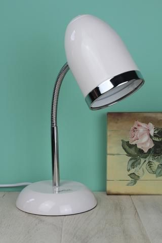 Cream Desk Lamp