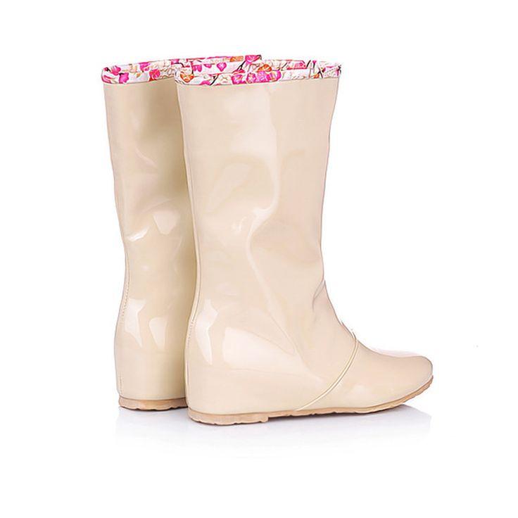 2016 Chegada Nova Lovely Fashion botas de Neve de Couro À Prova D' Água Sapatos Botas de Chuva das Mulheres XWX655 em Botas das mulheres de Sapatos no AliExpress.com | Alibaba Group