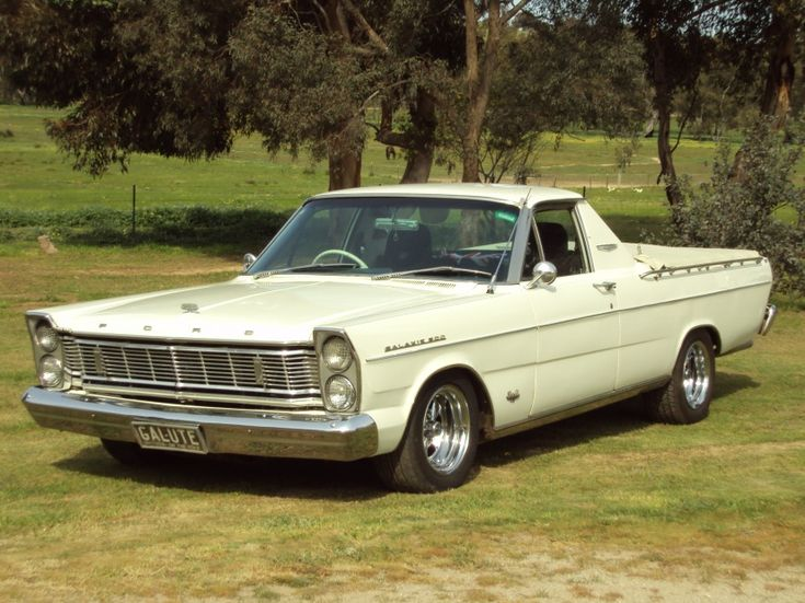Ford Galaxie 500 Ute Pick up 1965. Ford FairlaneAll CarsClassic ... & 16 best Aussie muscle images on Pinterest | American muscle cars ... markmcfarlin.com