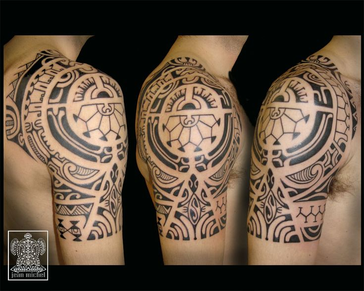 Polynesien tattoo