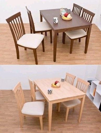Dining Table 北欧家具風食卓テーブルサニーダイニングテーブル115cm幅 インテリア 雑貨 Modern ¥6400yen 〆05月18日