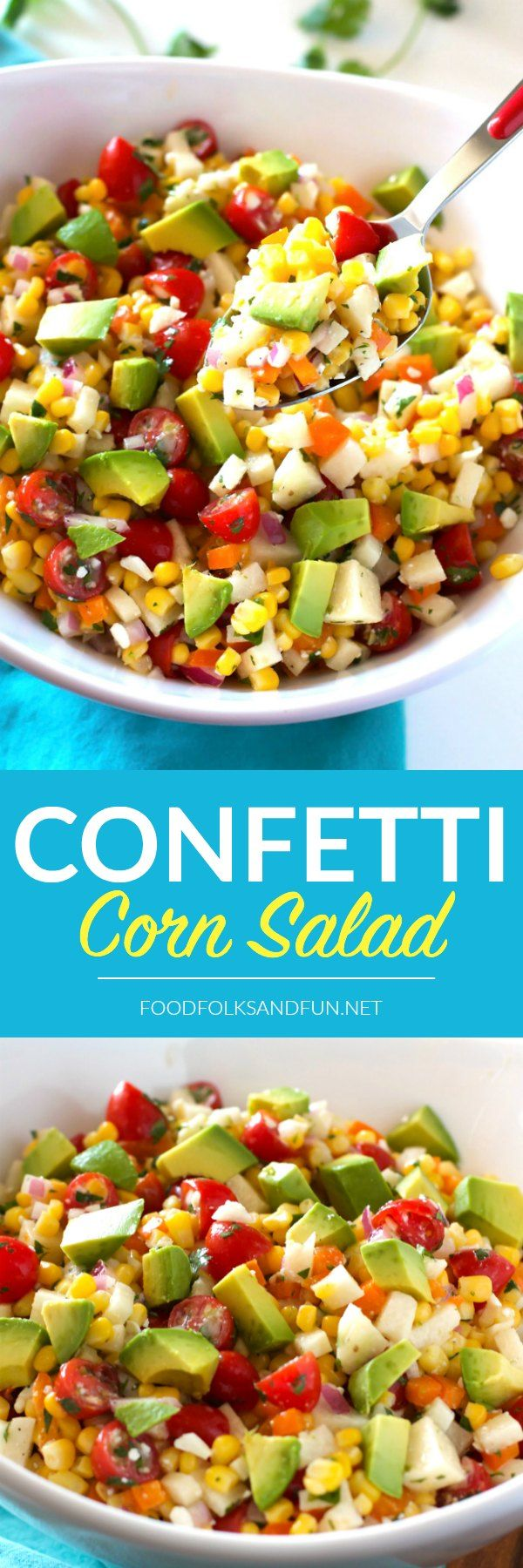 This Confetti Corn Salad is a refreshing, light side dish that's perfect for…