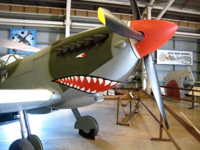 Military planes and historic war memorabilia can be found in the Top End of the Northern Territory.