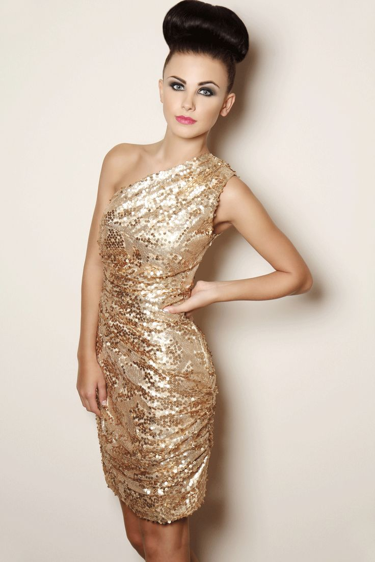 MESMERIZING GOLD DRESS FOR ALL YOU PARTY ANIMALS | Gold ...
