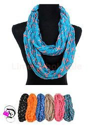 Cross Infinity Scarf - Multiple Colors $10.99