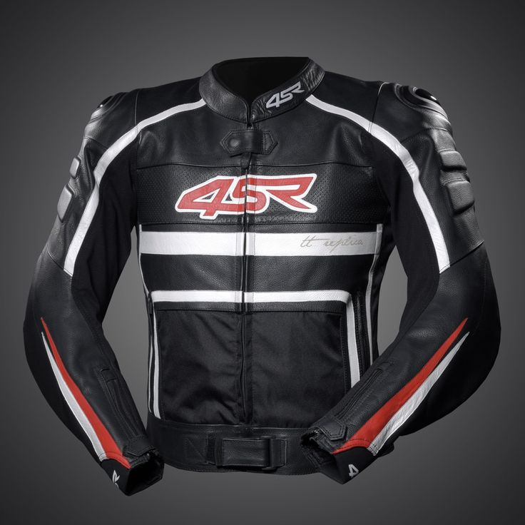 4SR TT Replica - Black Leather jacket