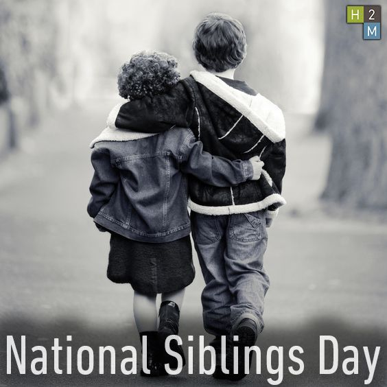 Happy Sister And Brothers Day: 25+ Best Ideas About Happy Sibling Day On Pinterest