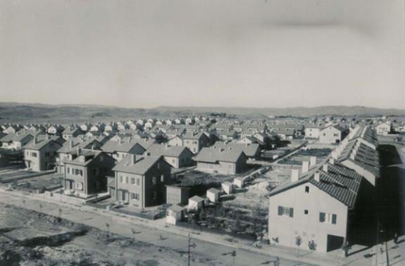 Levent Evleri. 1950s? Levent, Istanbul.