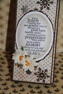 Heidis papirhobby: Sjokoladekort i lange baner