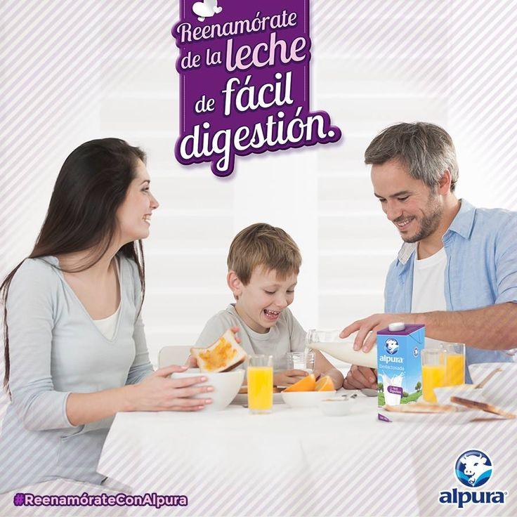 La lactasa es una enzima que permite absorber adecuadamente los nutrientes de la leche y muchas personas no producen la suficiente. Es por ello que existen los productos deslactosados.  Conoce más sobre los productos deslactosados que tenemos para ti y #ReenamórateConAlpura http://bit.ly/1Hu0hAe