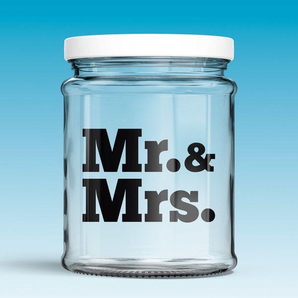 Vinilos Decorativos: Mr. & Mrs. 0