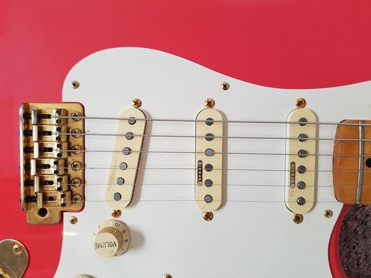 Hank Marvin custom Stratocaster with Kinman pickups