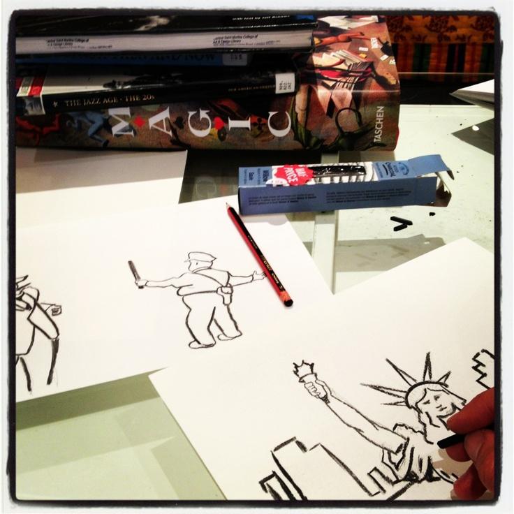 Mika drawing